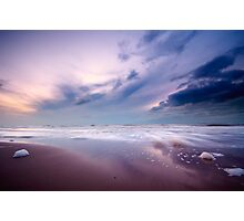 Ocean at night Photographic Print