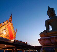 Leaning Buddha by Dave Lloyd