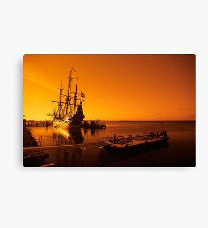 old ship Canvas Print