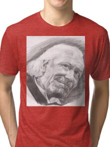 The First Doctor Tri-blend T-Shirt