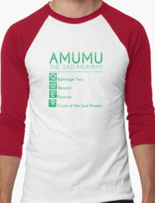 Champion Amumu Skill Set In Green Men's Baseball ¾ T-Shirt