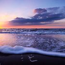 a beautiful night at the beach by Enjoylife