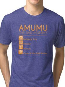 Champion Amumu Skill Set In Orange Tri-blend T-Shirt