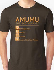 Champion Amumu Skill Set In Orange T-Shirt