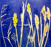 "Mornington Peninsula Grasslands12 by Belinda ""BillyLee"" NYE (Printmaker)"
