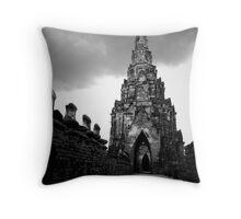 Ayutthaya Sky Throw Pillow