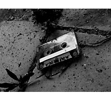 The lost tape Photographic Print