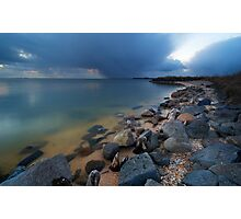 Lake at night Photographic Print
