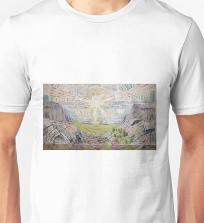 Edvard Munch - The Sun Unisex T-Shirt