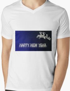 Happy New Year Mens V-Neck T-Shirt