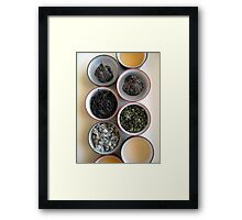 Chinese Tea Framed Print