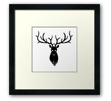 Swiggity Swag the Nightmare Stag Framed Print
