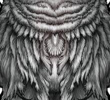 Geo Owl Sticker