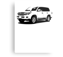 Toyota Land Cruiser Metal Print