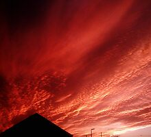 fire sky by mossa