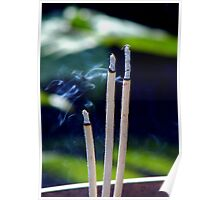Incense Offering Poster