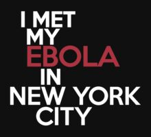 I met my ebola in New York City by onebaretree