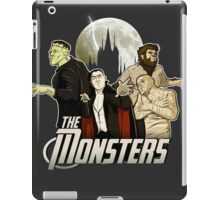 Monsters Assemble iPad Case/Skin