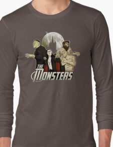 Monsters Assemble Long Sleeve T-Shirt