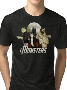 Monsters Assemble Tri-blend T-Shirt