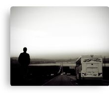 desert farewell Canvas Print