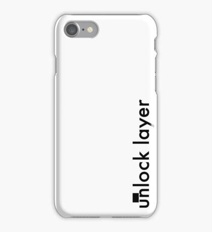 Unlock Layer - Side iPhone Case/Skin