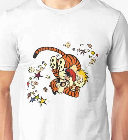 Horseplay - Calvin and Hobbes Unisex T-Shirt