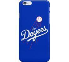 Los Doyers (White)  iPhone Case/Skin