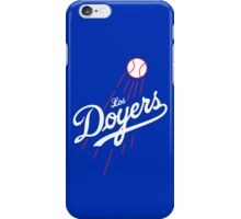 Los Doyers (White)  iPhone Case/Skin