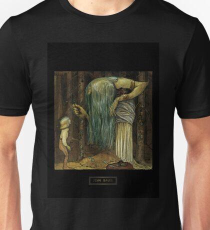John Bauer's Scandinavian Fairies, Gnomes and Trolls Unisex T-Shirt