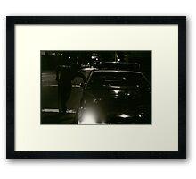 New York cops Framed Print