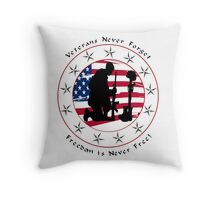 Never Forget 1.0 Throw Pillow
