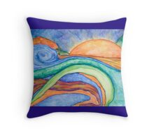 Sunset/Sunrise? Throw Pillow