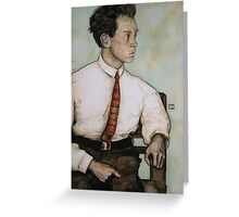 Egon Schiele Greeting Card