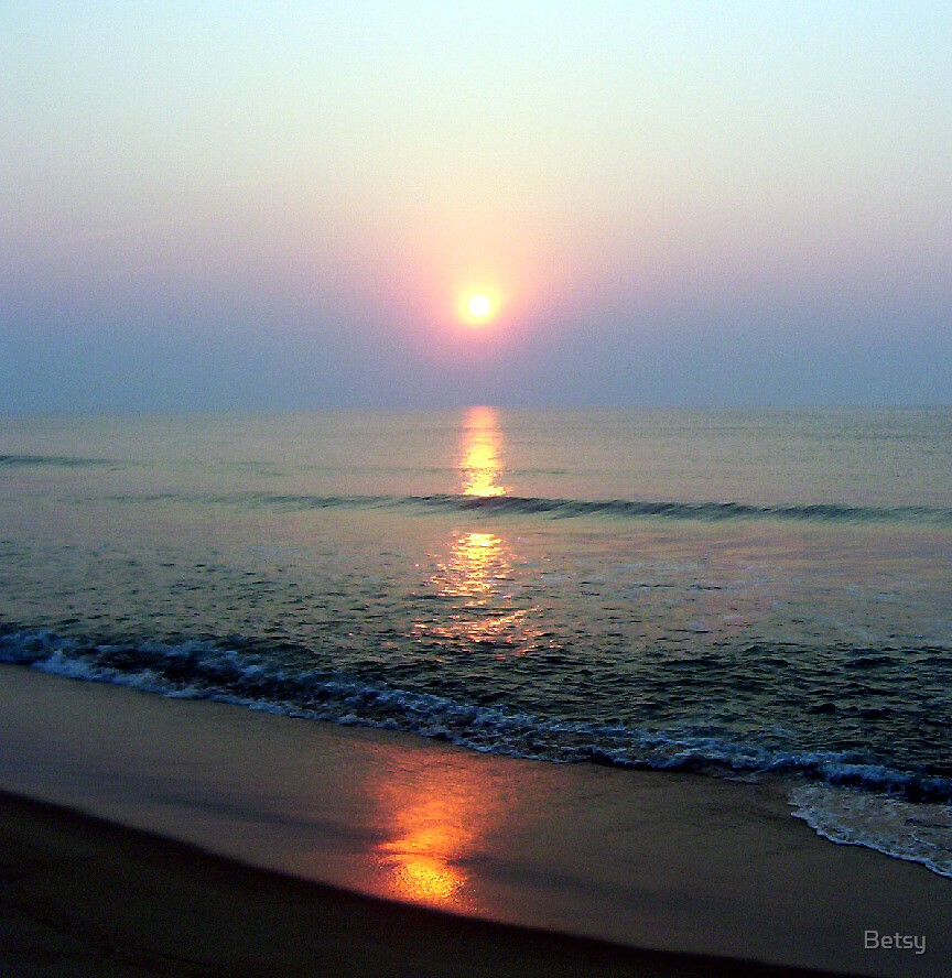 east coast sunrise by Betsy