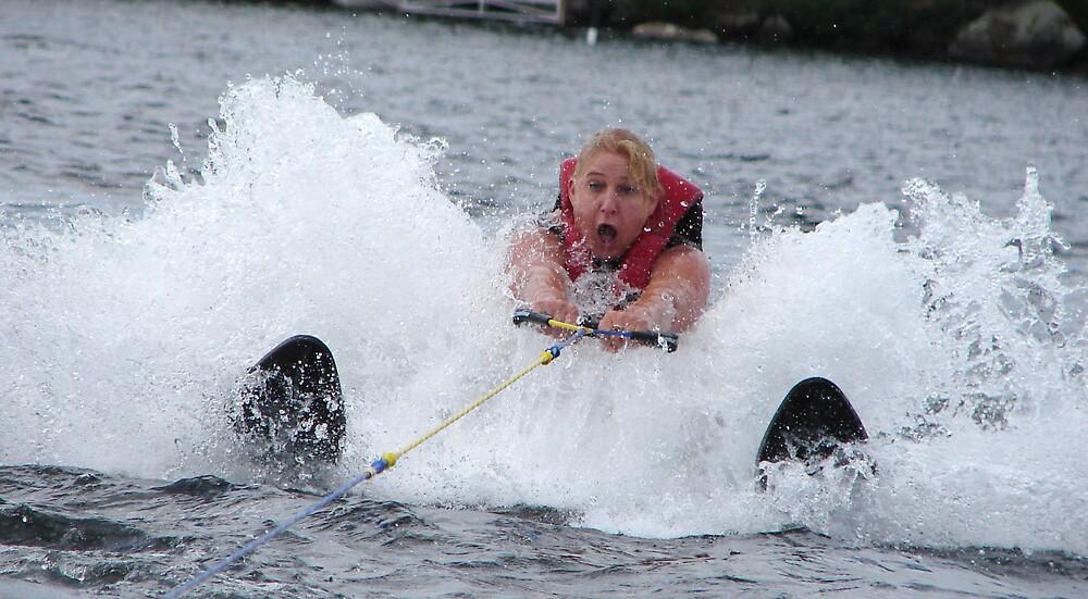 Water Skiing by AmandaMurdock