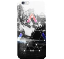 Serenity Of Mt. Triangles iPhone Case/Skin