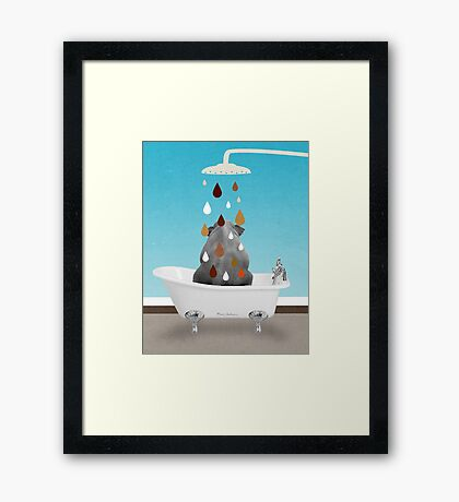 cool animals  Framed Print