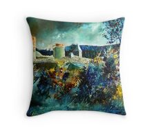 castle of hierges Throw Pillow