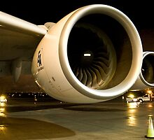 A380 Engine by P Michaud