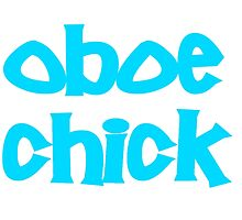 Oboe Chick by greatshirts