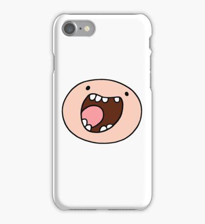 Super Happy Finn iPhone Case/Skin