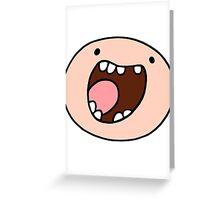 Super Happy Finn Greeting Card