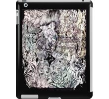 Hysteria, watercolor and ink iPad Case/Skin