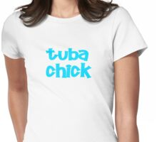 Tuba Chick Womens Fitted T-Shirt