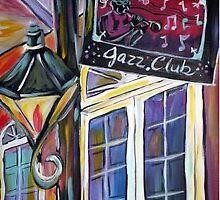 Can-Can Jazz Club  by Angel Turner Dyke