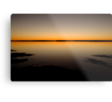 Sunrise, Lake Caroline, North Simpson Desert Metal Print