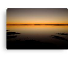 Sunrise, Lake Caroline, North Simpson Desert Canvas Print