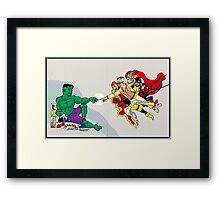 The Creation of Stan Framed Print