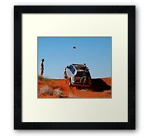 Up and Over...1,100 Times! Framed Print